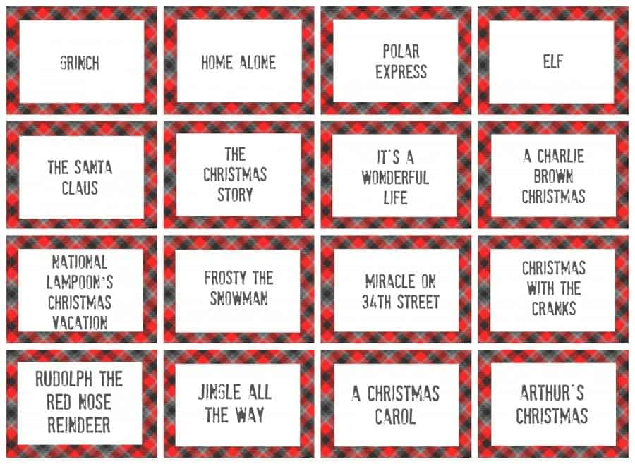photograph about Charades for Kids Printable identified as xmas charades activity and free of charge printable roundup! - A female