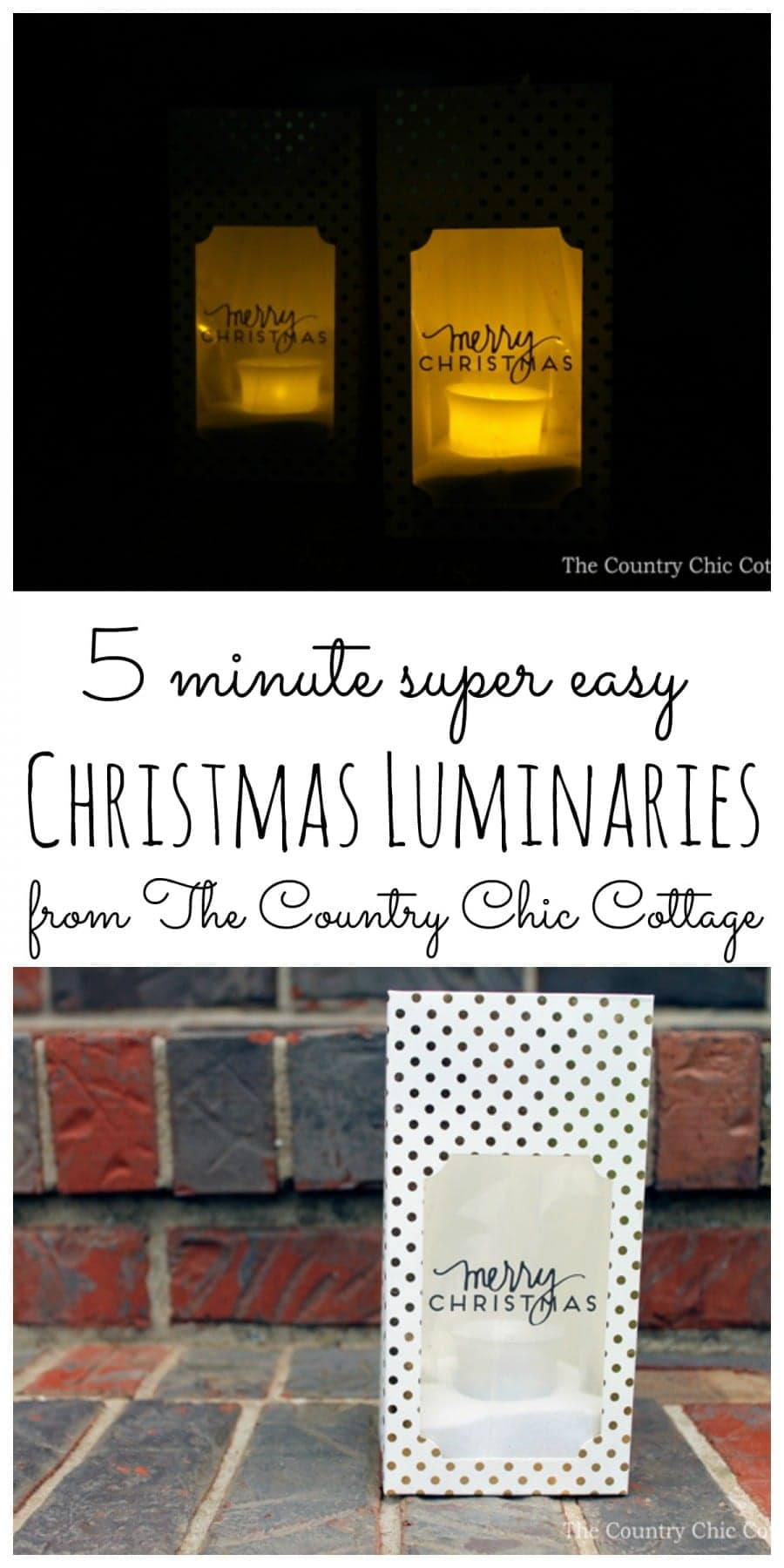 christmas-luminaries-collage