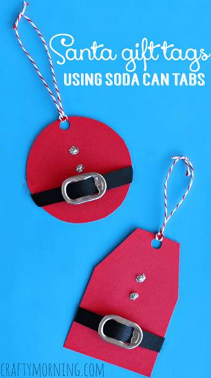 diy-santa-clause-gift-tags-using-soda-can-tabs