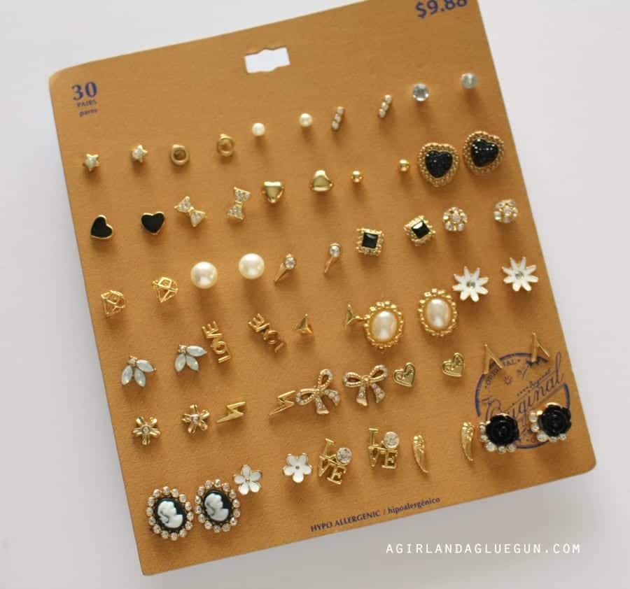 earring present