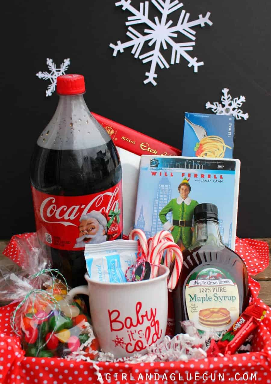 elf basket gift