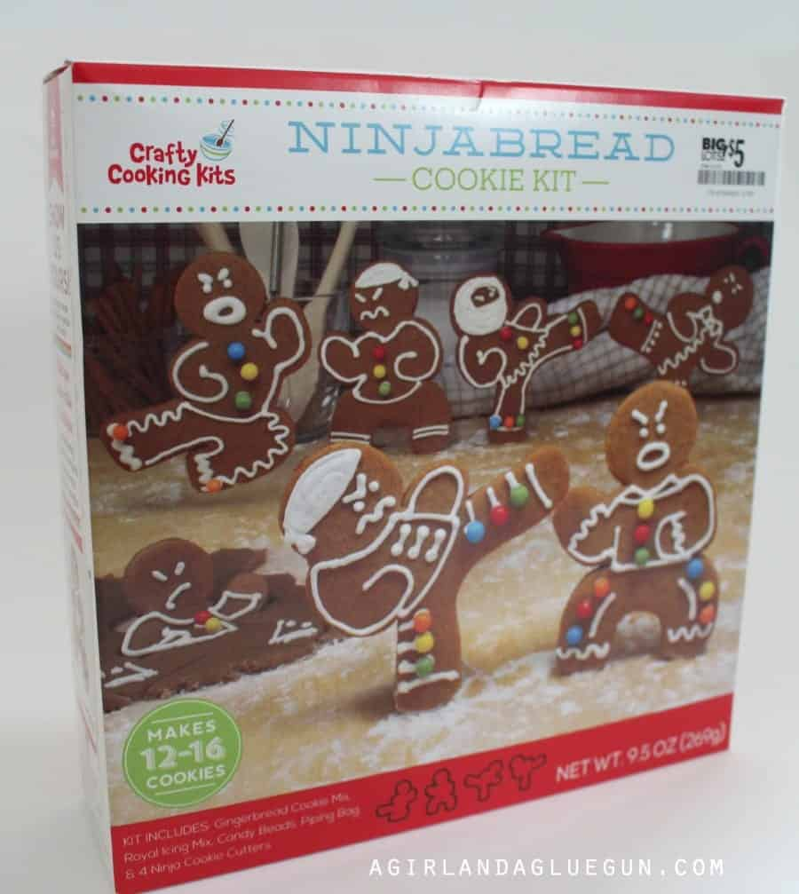 fun ninja cookie kit