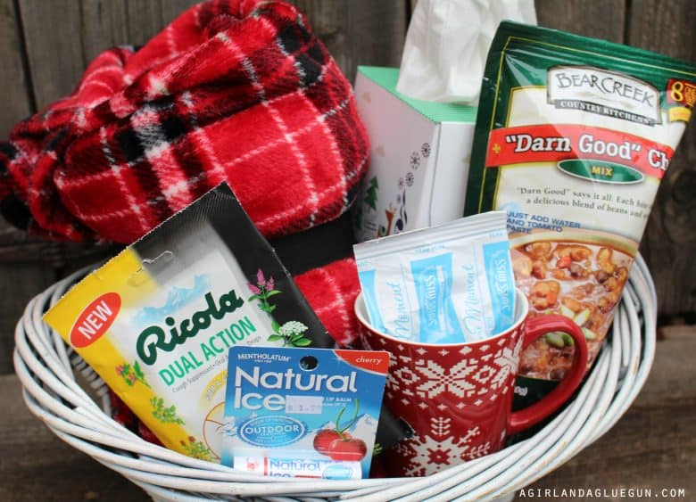 Themed gift basket roundup a girl and a glue gun gift basket 1 winter survival kit negle Gallery