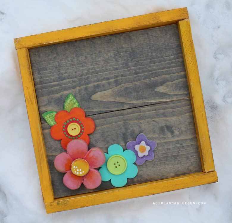How to make wood frames! Step by Step! - A girl and a glue gun