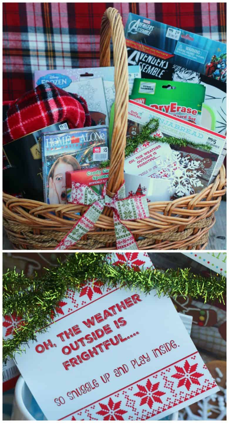 4 fun and easy gift basket ideas for Christmas - A girl and a glue gun