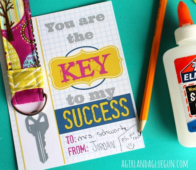 4 gifts that teachers actually want told by teachers a girl and or a keychain key to my success teacher gift a girl negle Gallery