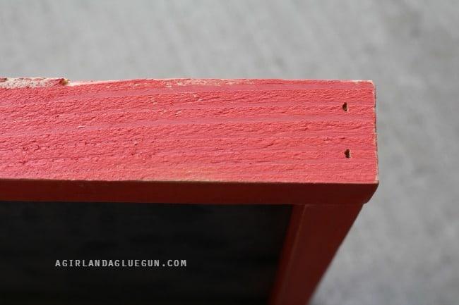 nail holes