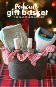 Pedicure Gift basket