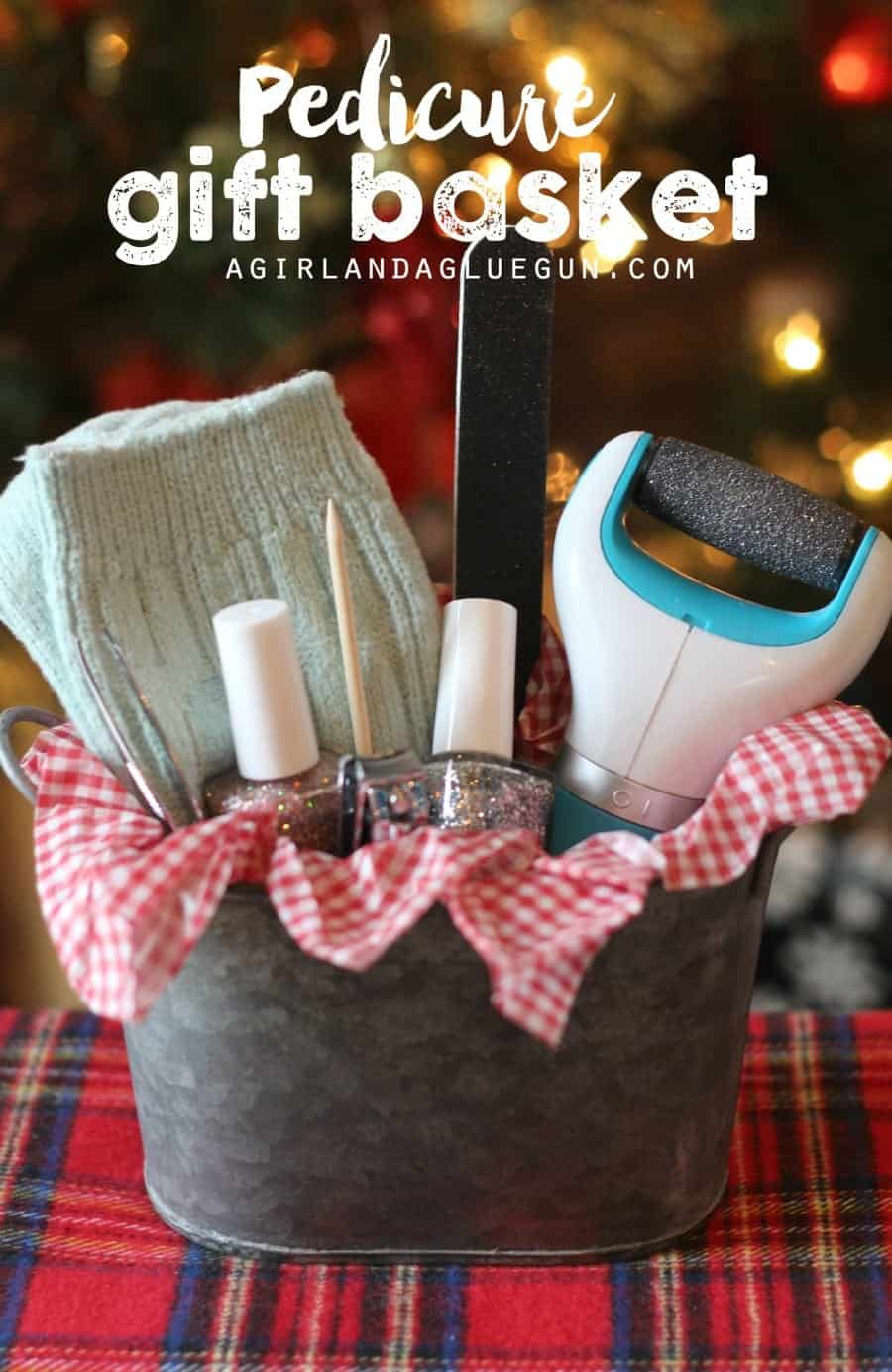 pedicure gift basket ideas