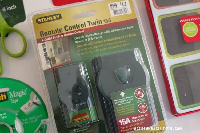 remote control plug in