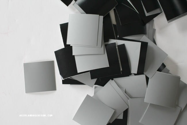 square vinyl pieces from expressions