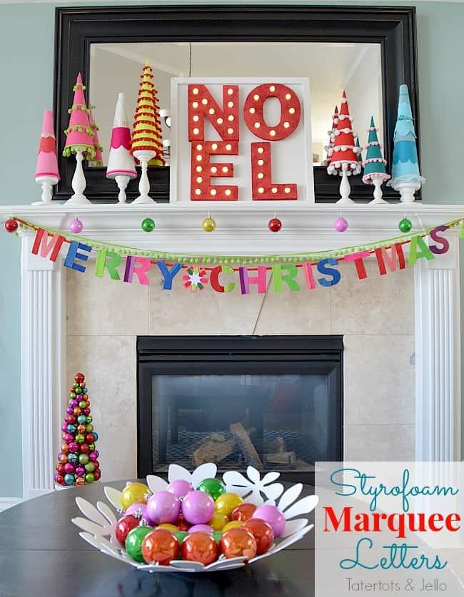 styrofoam-marquee-letters