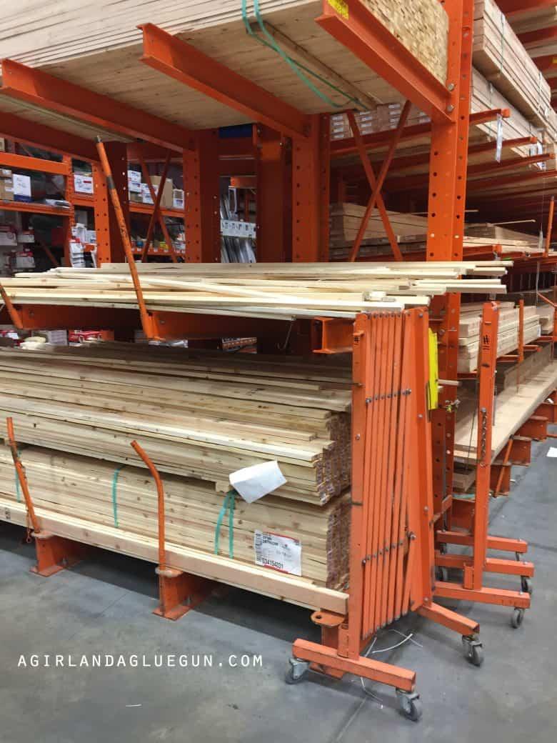 How to make wood frames! Step by Step! - A girl and a glue gun