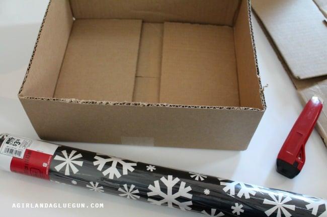 wrap a box
