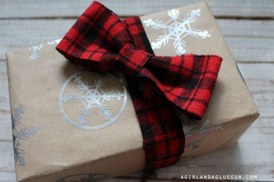 wrap a present