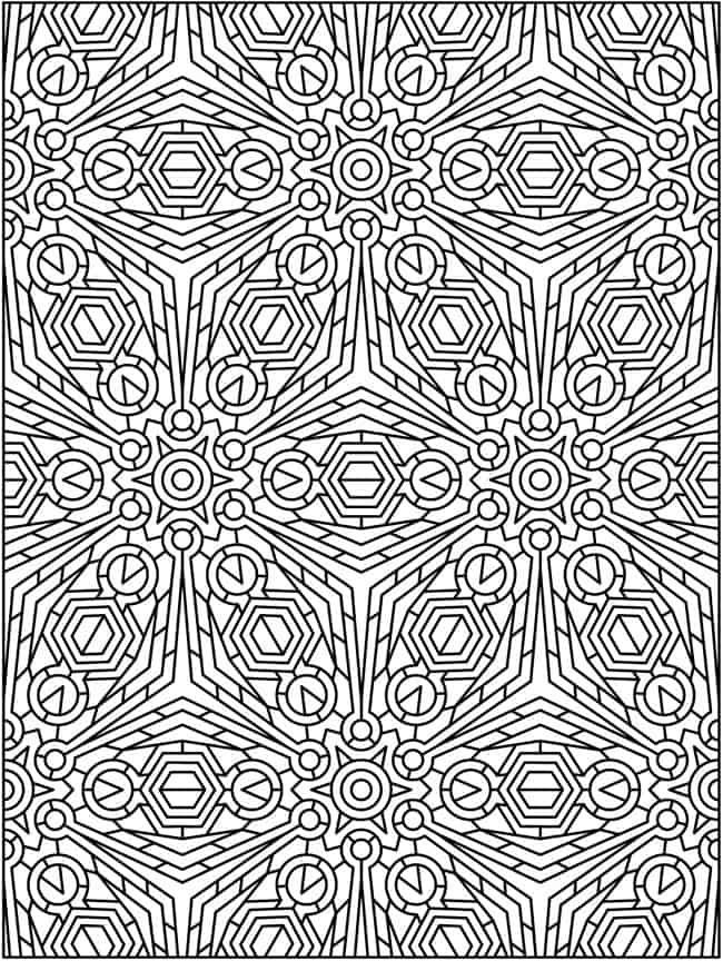 Adult Coloring Pages Patterns : Free coloring pages printables a girl and a glue gun