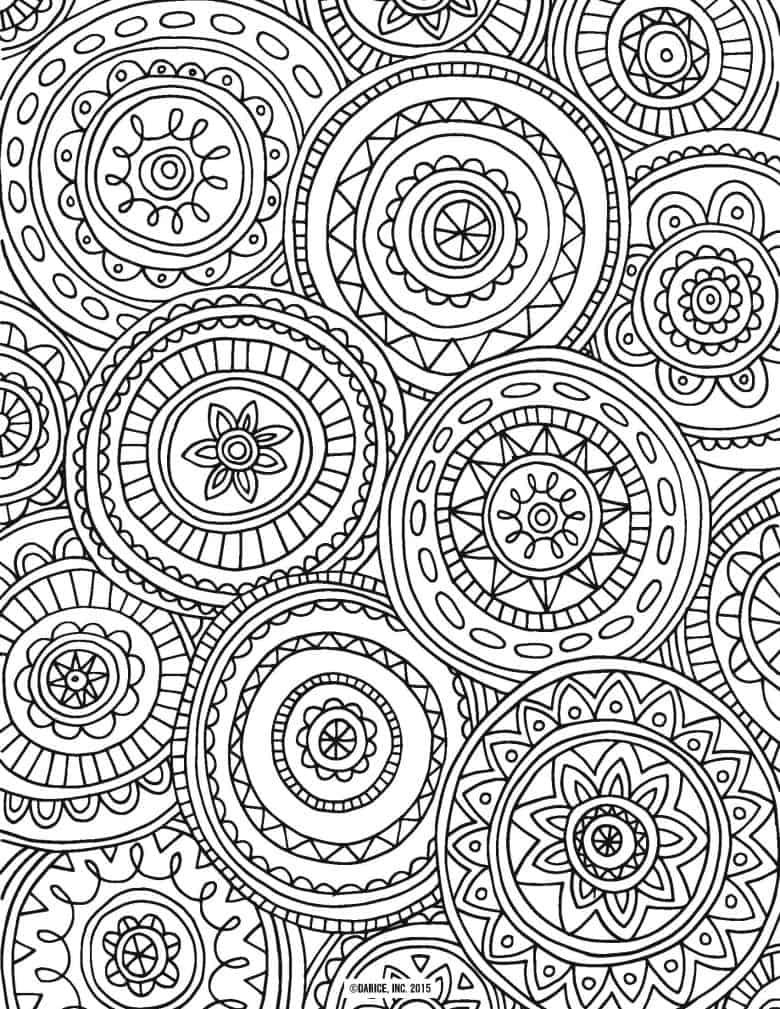 circles - Amazing Coloring Pages