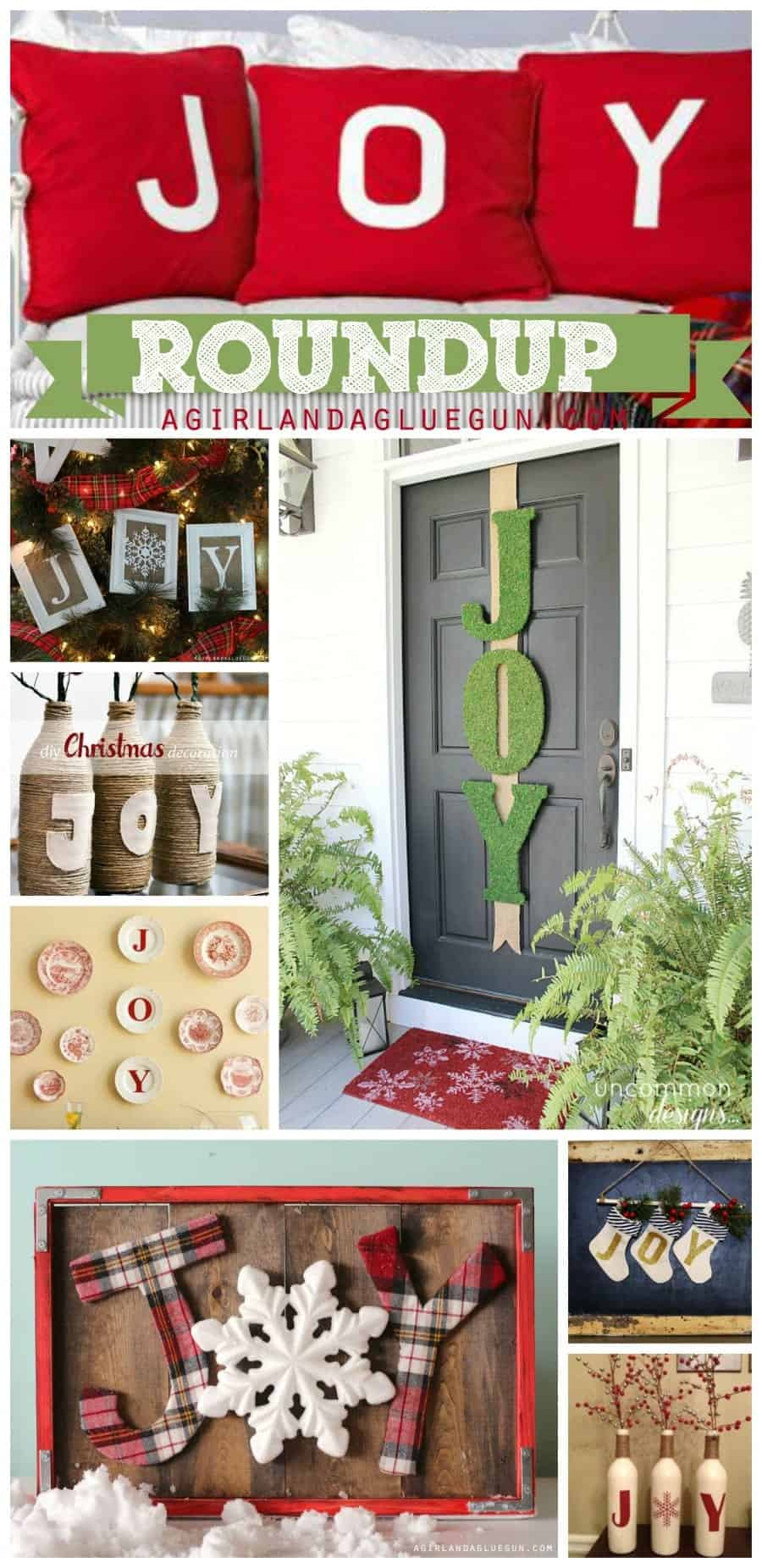 Joy roundup-fun decorations, projects and crafts