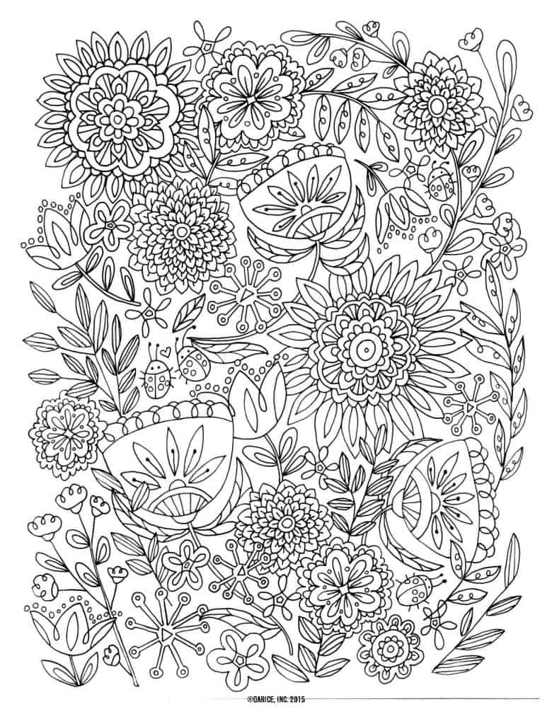 Amazing Elephant Coloring Sheet