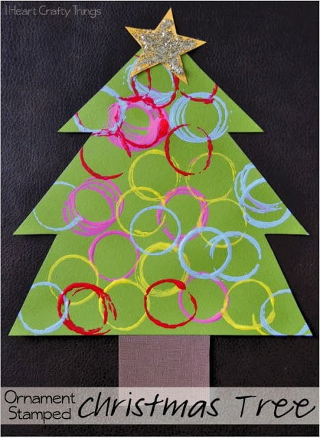 Over 30 Fun Christmas Tree Crafts For Kids A Girl And A