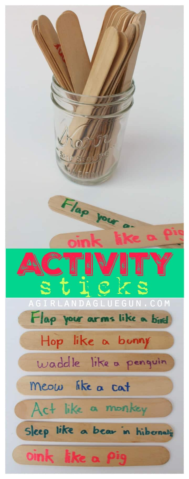 activity sticks