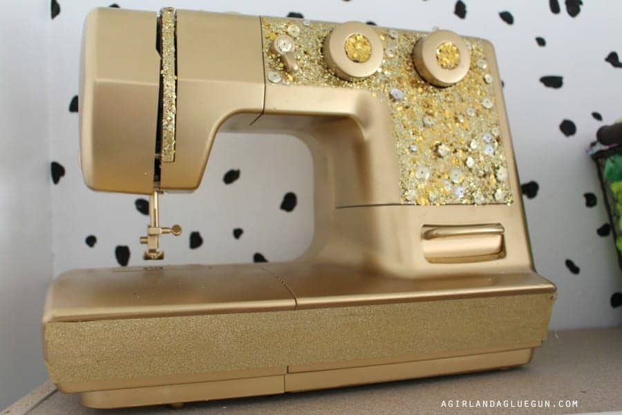 bedazzled sewing machine
