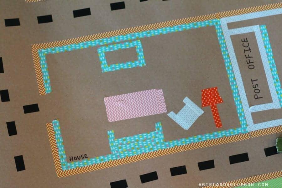 Washi Tape Floor Mat A Girl And A Glue Gun
