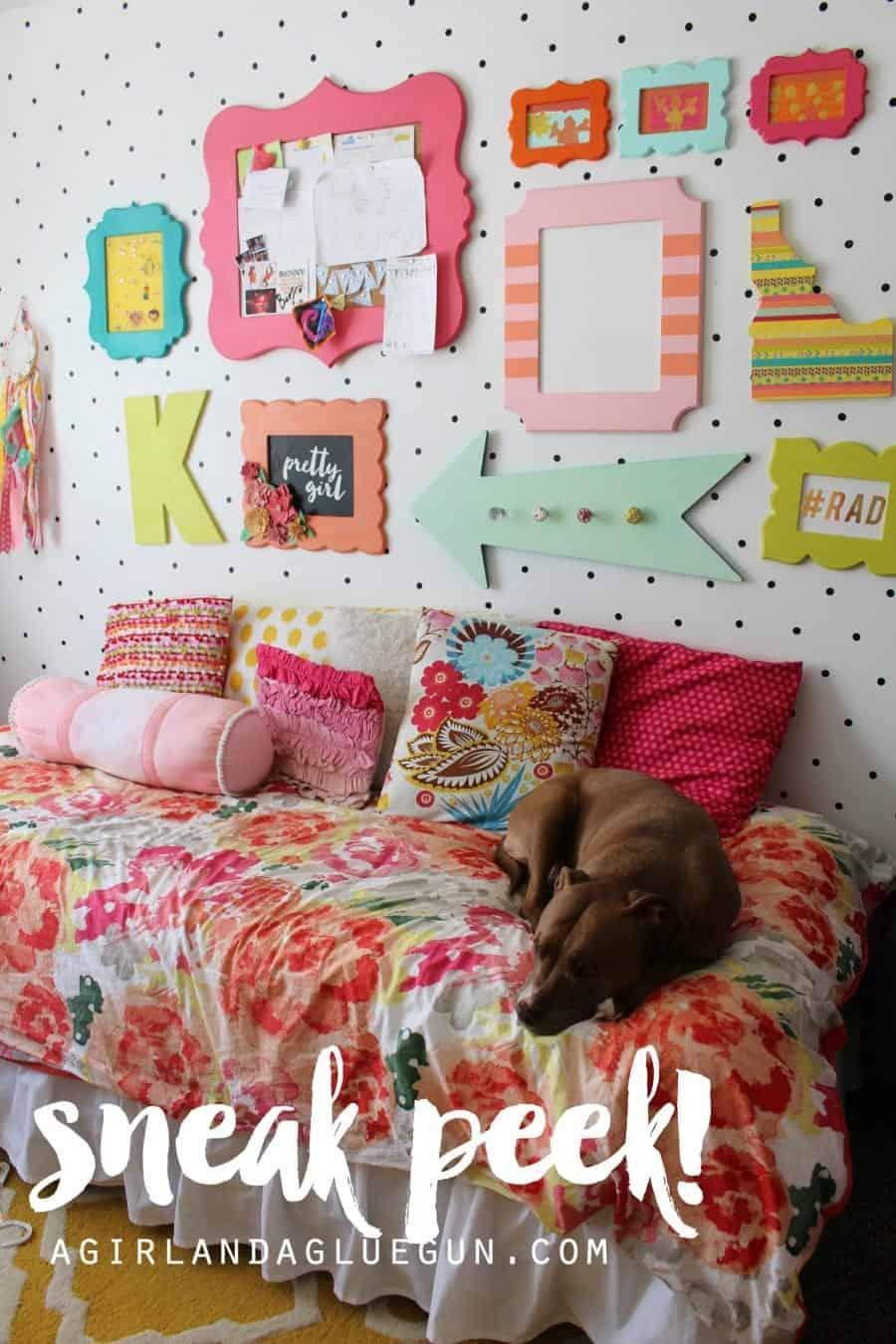 bedroom sneak peek