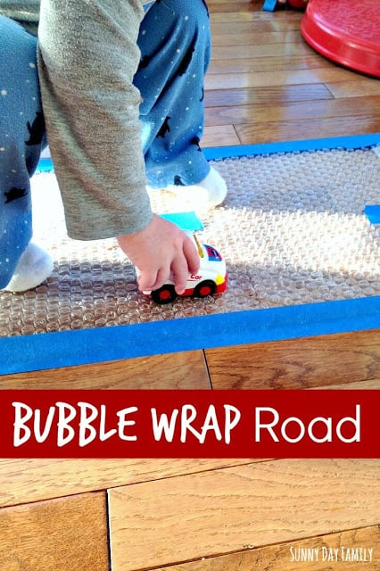 bubble wrap road