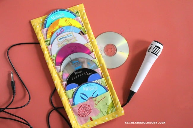 cd holder diy