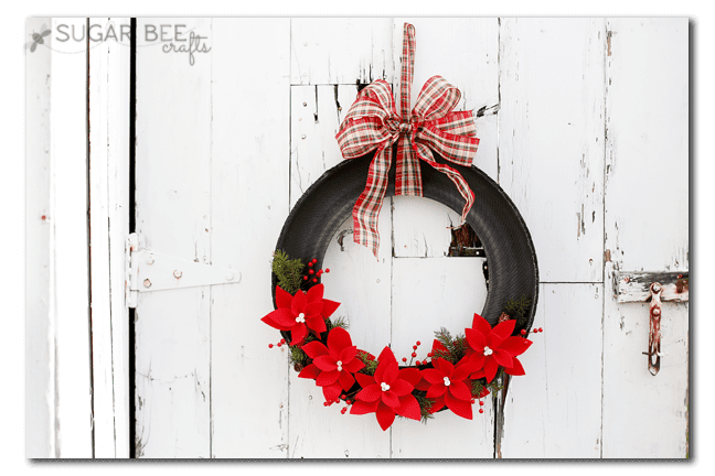Christmas Wreaths - A girl and a glue gun