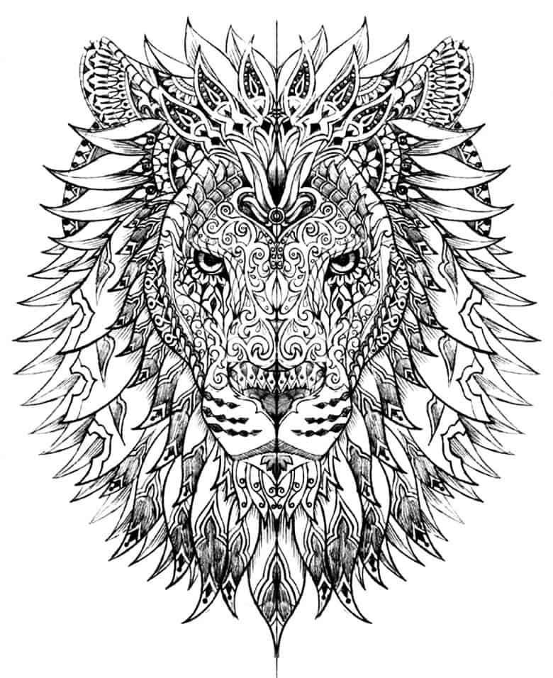 Free coloring pages for adults - Free Coloring Pages For Adults 6