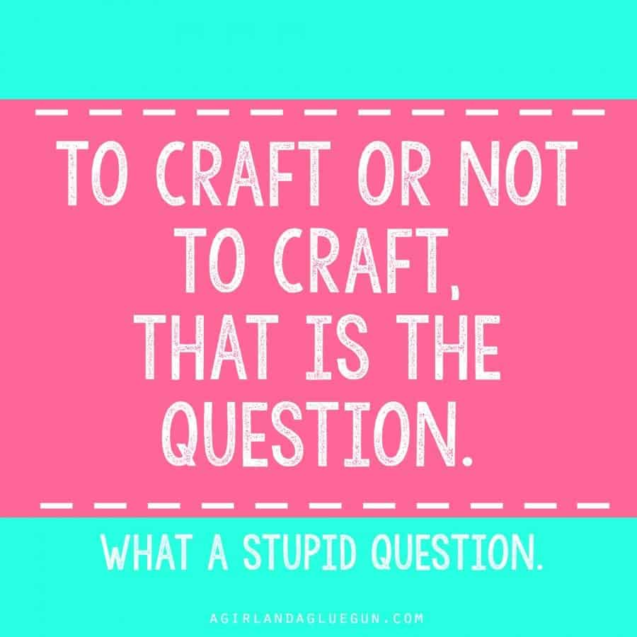 The funniest Craft memes! - A girl and a glue gun