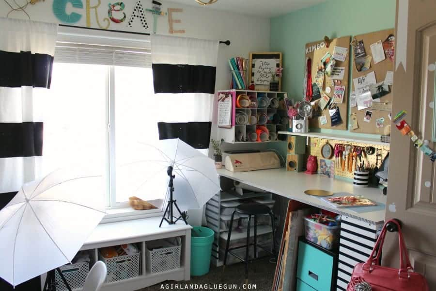 craft room tour makeover