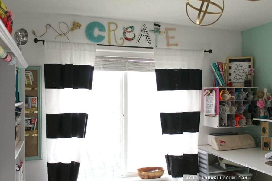 craft room window