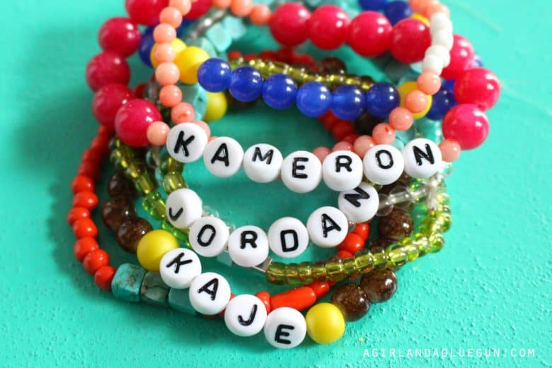 Beaded Name Bracelets Best Bracelets
