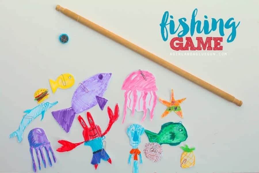 fishing game diy