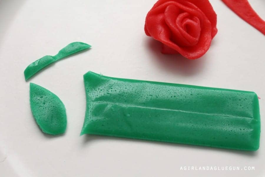flower made with candy