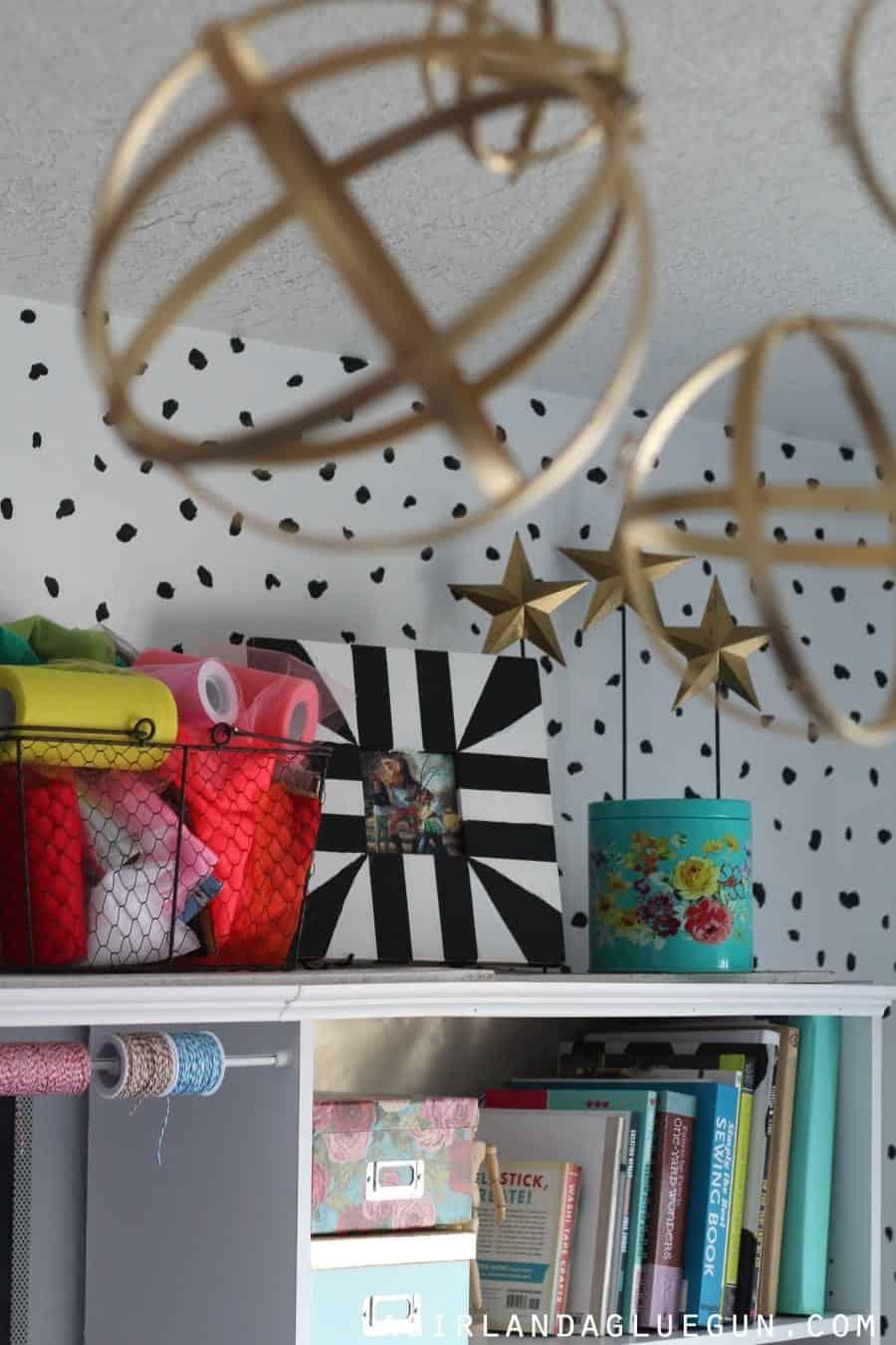 fun craft room decorations