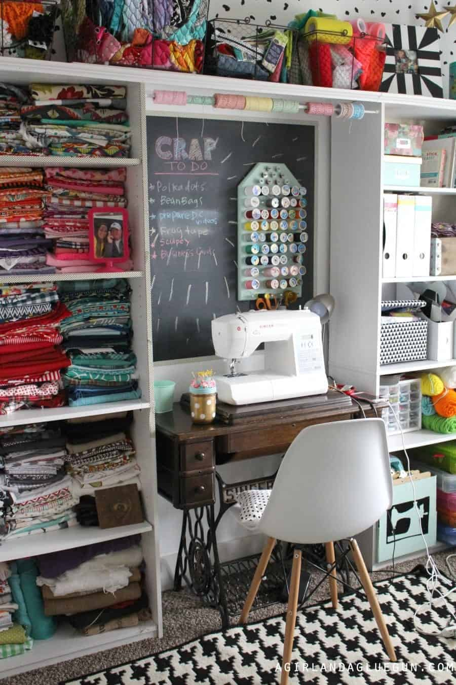 fun craft room storage ideas