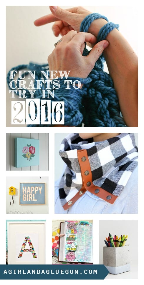 fun new crafts to try in 2016