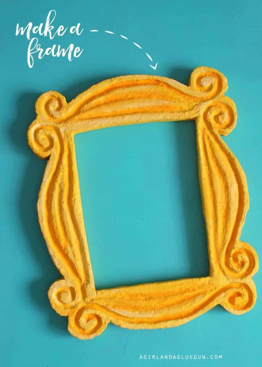 how to a make a fun frame out of foam