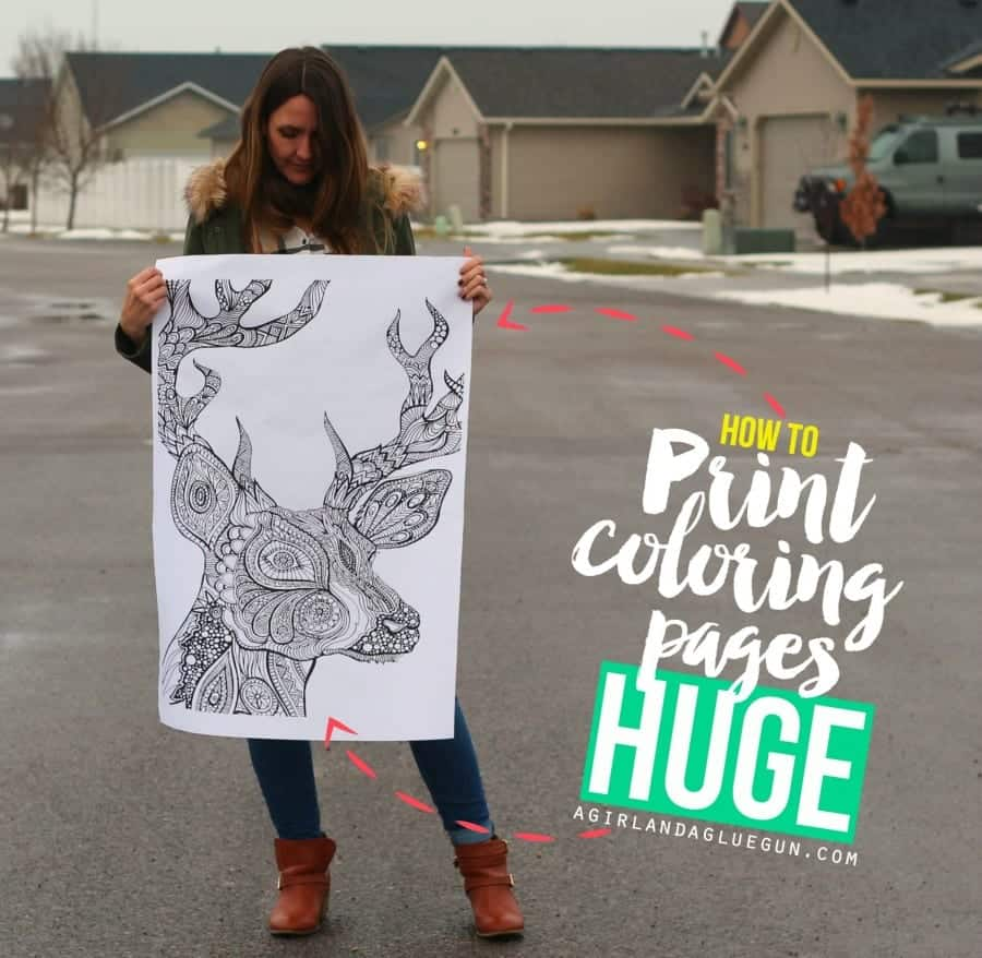 how to print off coloring pages