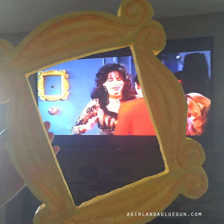 janice from friends frame