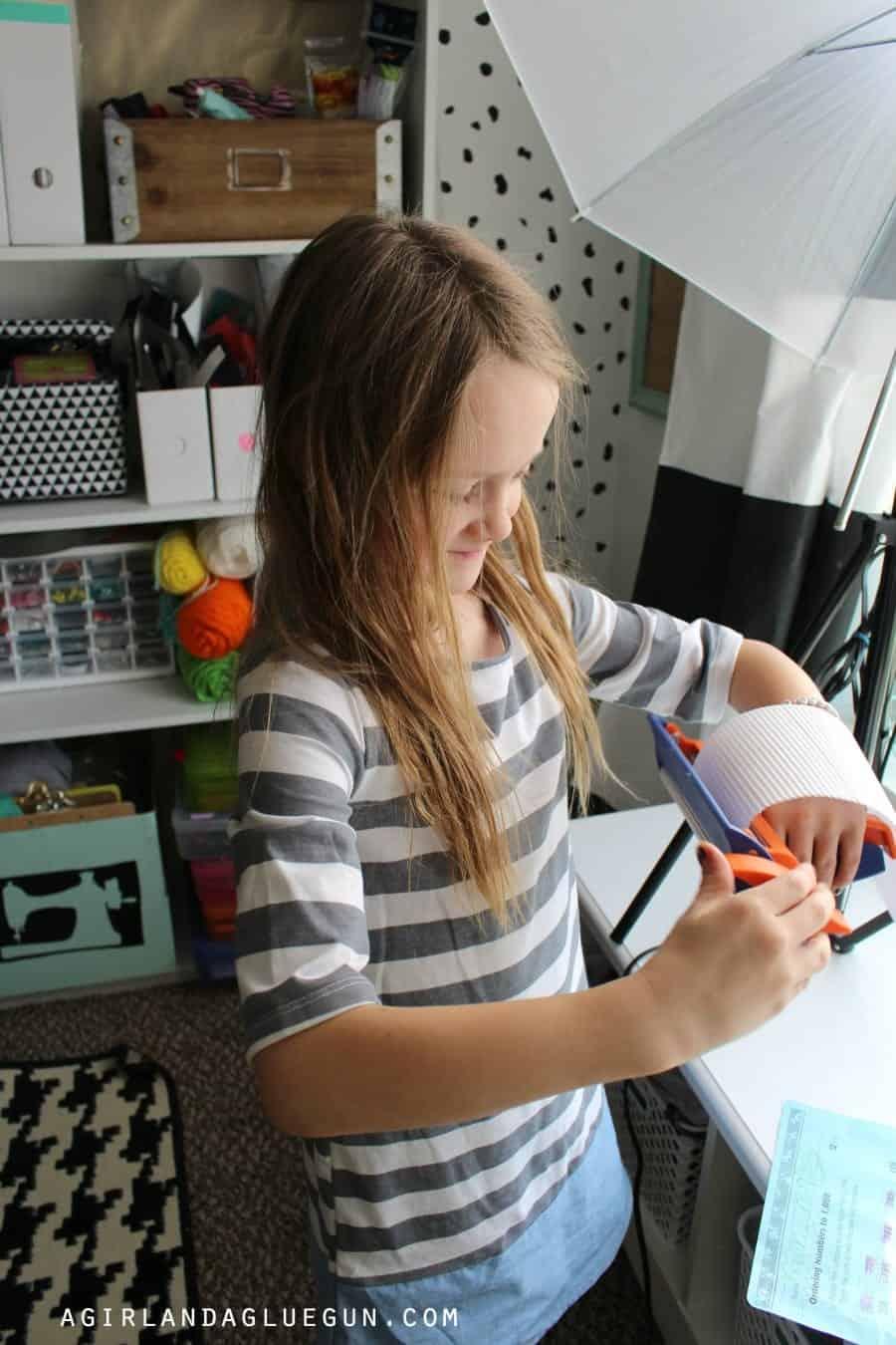 kid crafting