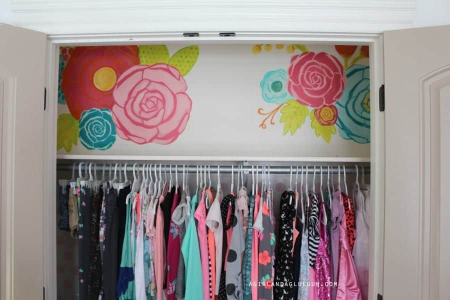large floral wall art