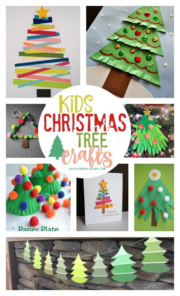 lots of fun christmas tree crafts for kids to do