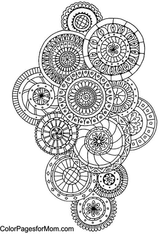 free paisley adult coloring pages - photo#5