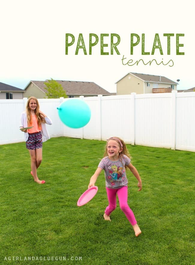 paper plate tennis 1