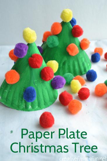 paperplatechristmastree1creativefamilyfun
